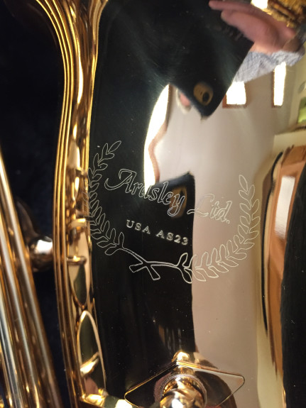 Ardsley Ltd Alto Sax Bell Logo